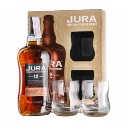 Isle of Jura 12 yo + 2 glasses, gift box 0,7 л