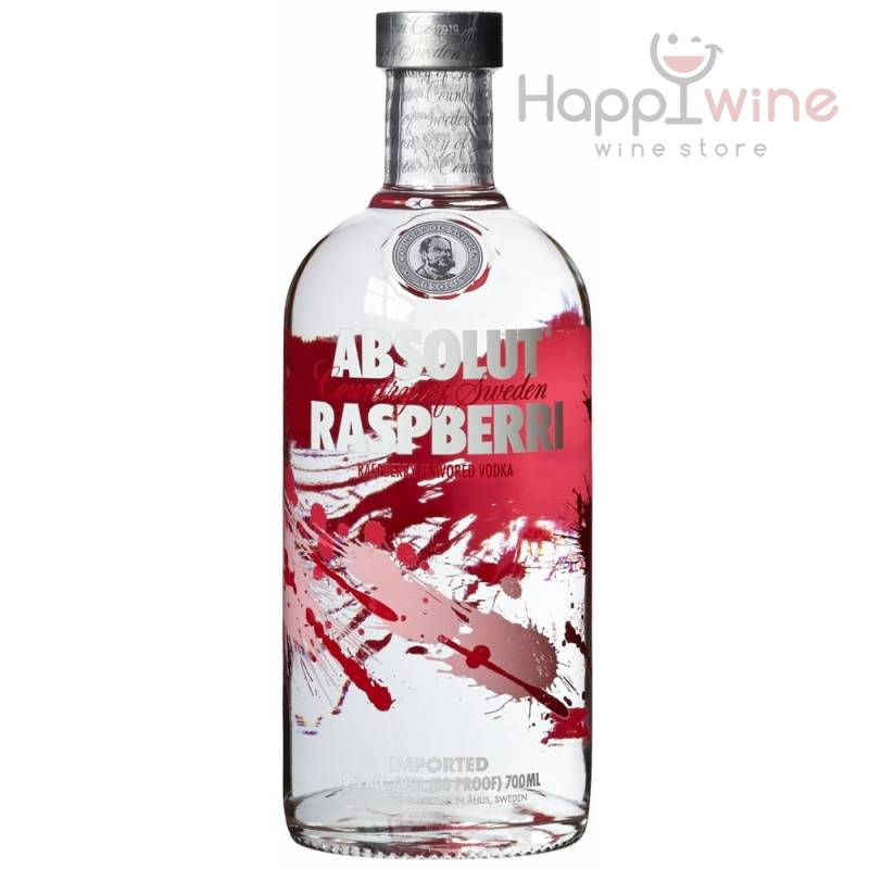 Absolut Raspberry - 0,7 л  The Absolut Company AB - АРХИВ!!!