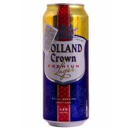 Holland Crown Premium Lager - 0,5 л ж/б
