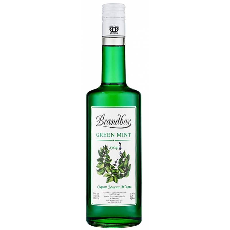 Brandbar Зеленая Мята - 0,7 л Brandbar