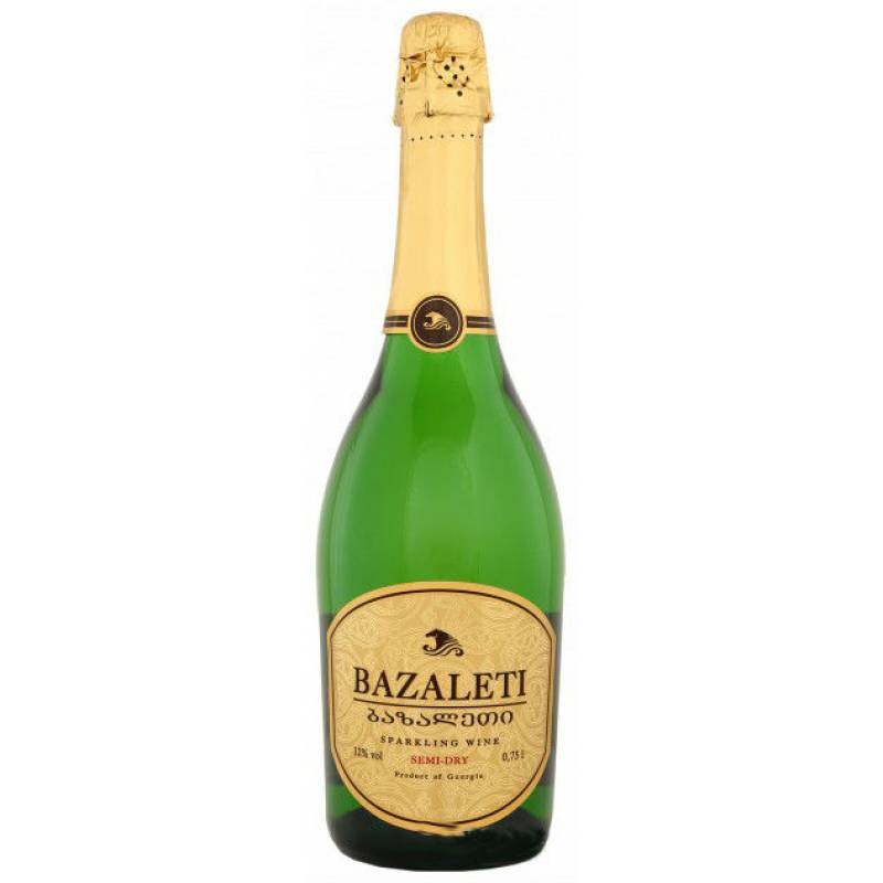 Bazalete Semi-Dry Базалети бел.н/сух. ( 0,75л ) Georgia Wines & Spirits - АРХИВ!!!