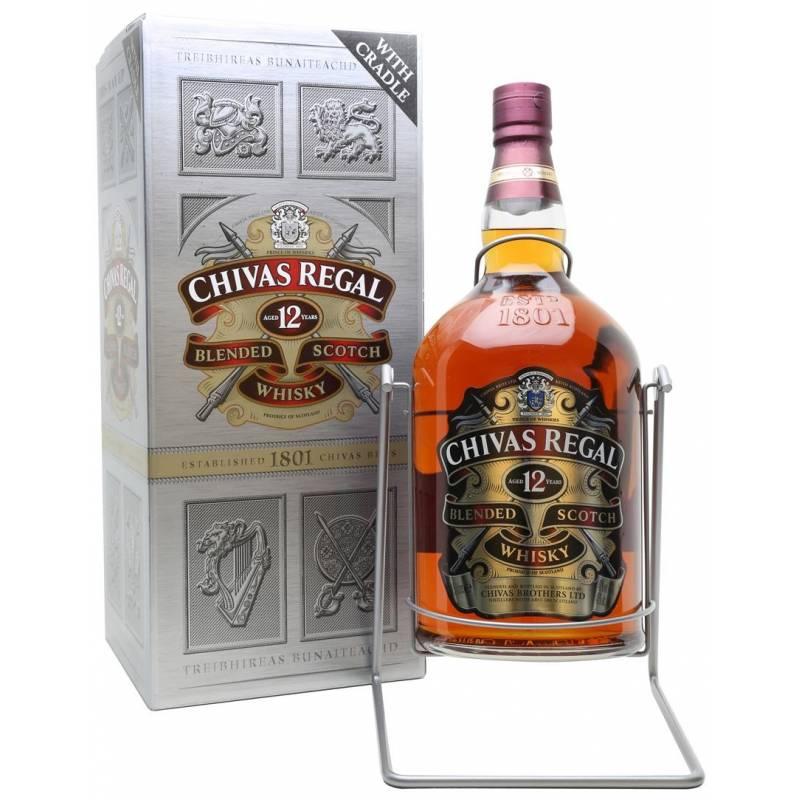 Chivas Regal 12 лет - 4.5 л Chivas Brothers - АРХИВ!!!