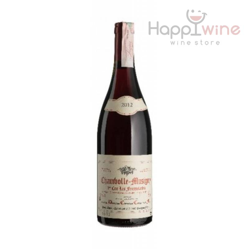 Chambolle-Musigny 1-er cru Feusselottes 2012 - 0,75 л Domaine Confuron Christian - АРХИВ!!!