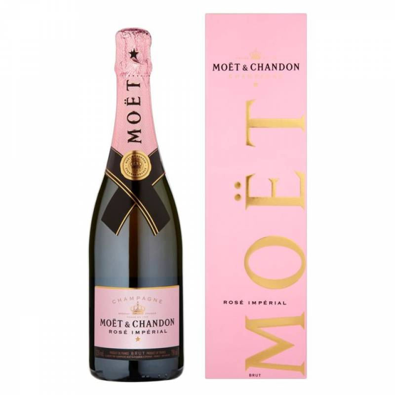Moet & Chandon Rose Imperial в коробке - 0,75 л  Champagne Moet & Chandon