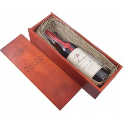 Armagnac Castarede, wooden box, 1971 (0,7 л)