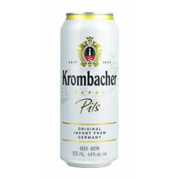 Krombacher Pils - 0,5 л  ж/б