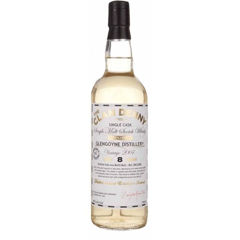 Clan Denny Malt Whisky 8л Old Glengoyne 2007 - 0,7 л - АРХИВ!!!