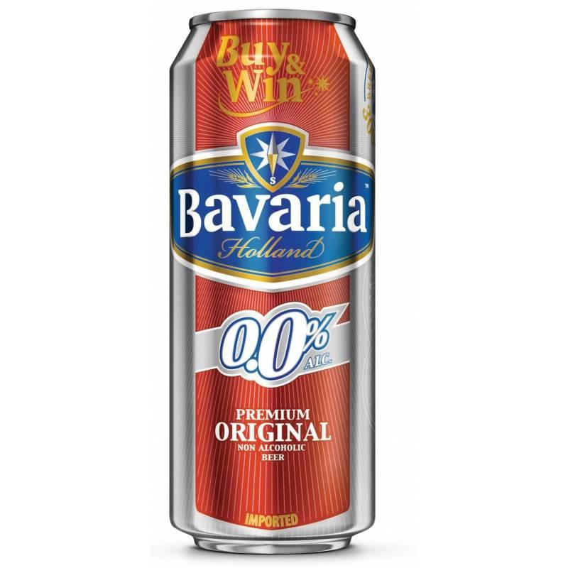 Bavaria б/а - 0,5 л ж/б