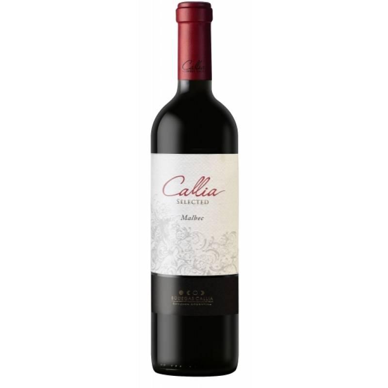 Callia Malbec Selected (  Мальбек Селектед Калия ) 0,75 л Callia - АРХИВ!!!