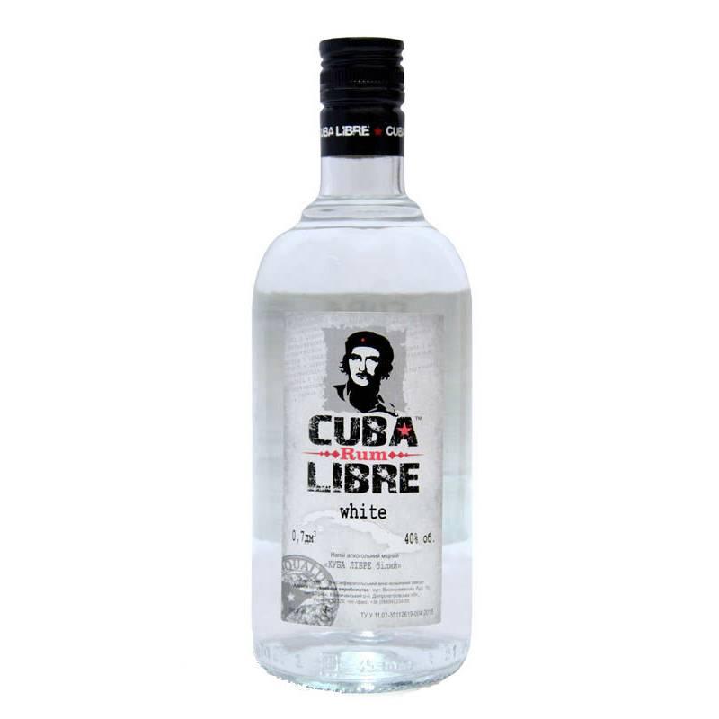 CUBA LIBRE Rum White ( Куба Либре бел.) 0,7л ООО Симферопольский ВКЗ