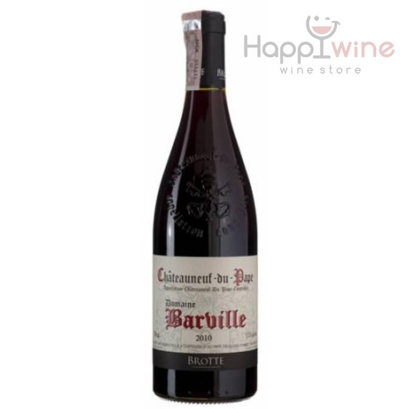 Brotte Domaine Barville Chateauneuf-du-Pape, 2010 (0,75 л) Brotte - АРХИВ!!!