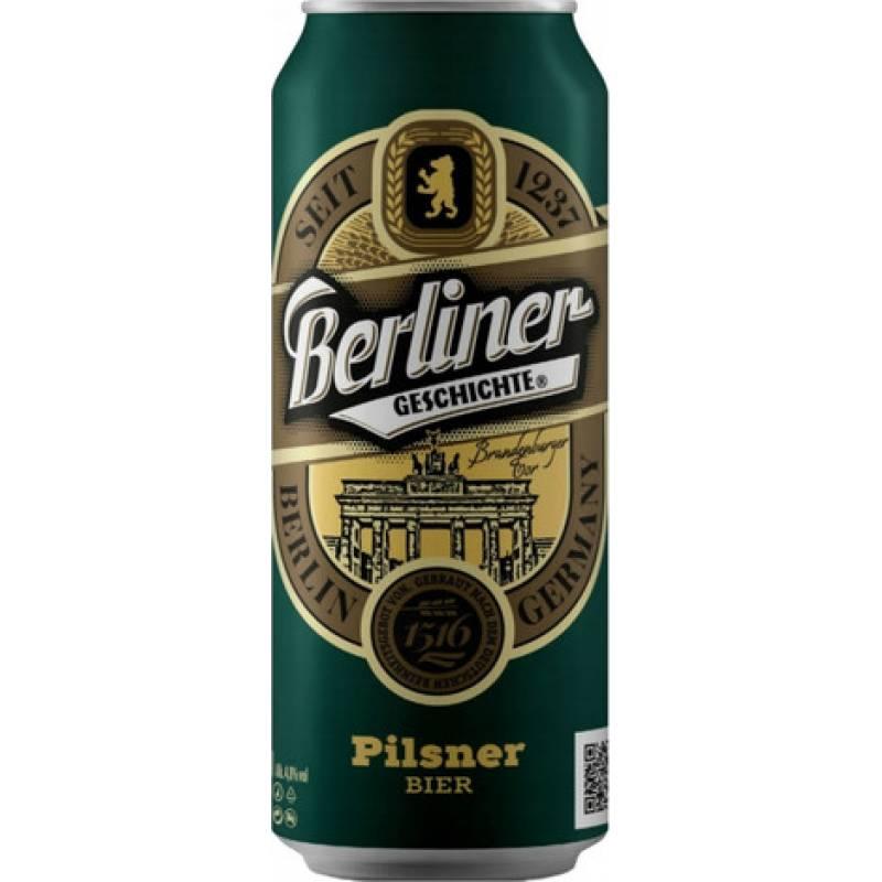 Berliner Geschichte Pilsner - 0,5 л ж/б Eibau