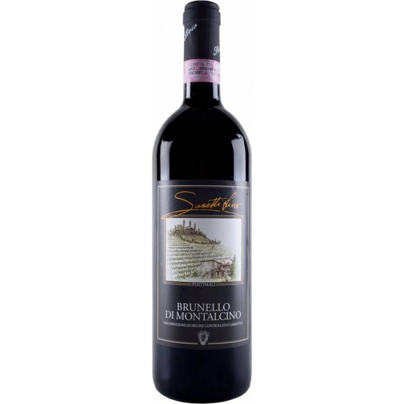 Brunello di Montalcino 2011 - 0,75 л Pertimali Sassetti - АРХИВ!!!