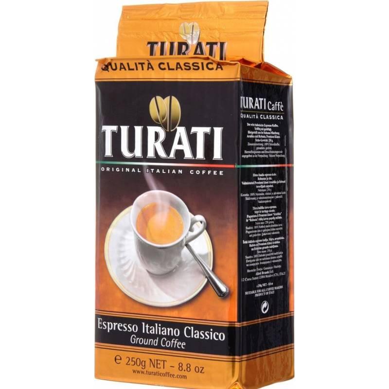 Turati Qualita Classica жареное молотое ( 250 гр)