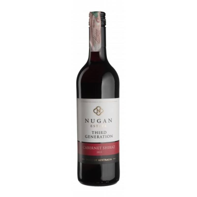 Cabernet Shiraz Third Generation 0,75 л Nugan Estate