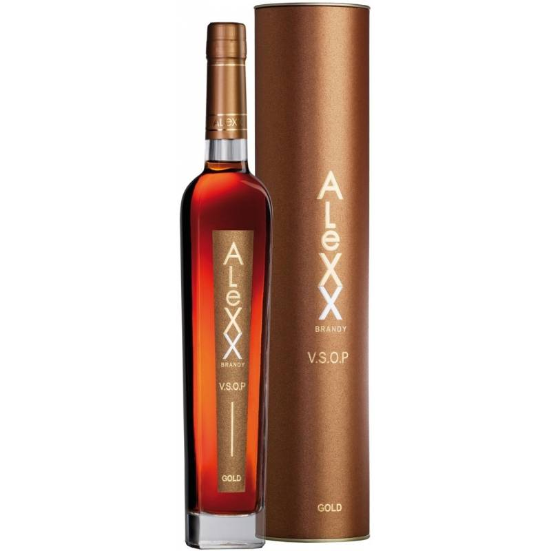 Alexx Gold VSOP in tube - 0.5 л Таврия