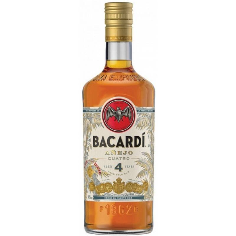 Bacardi Anejo Cuatro - 0,7 л Bacardi Martini