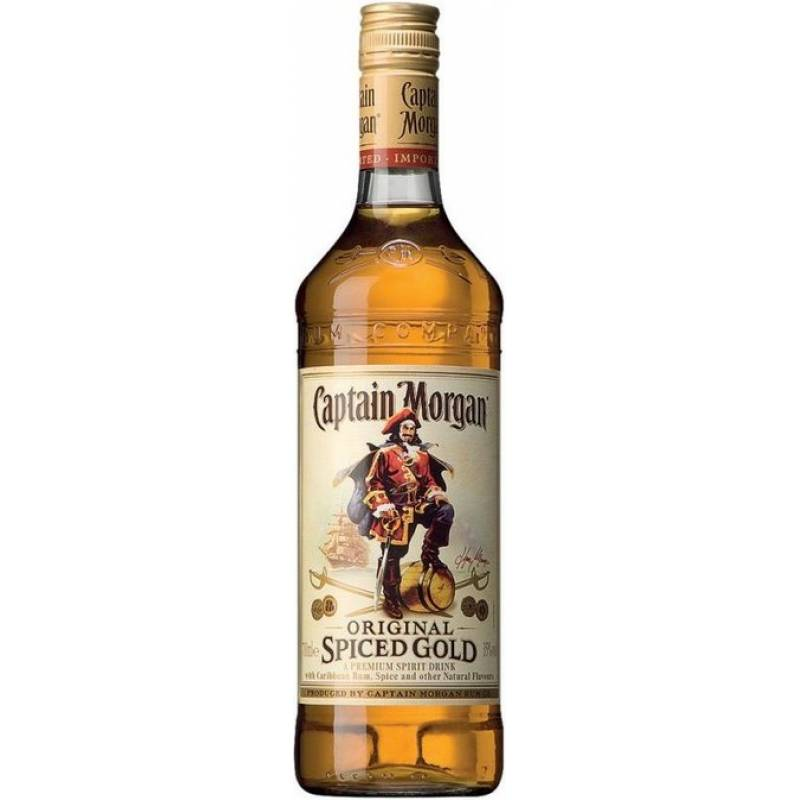 Captain Morgan Spiced Gold ( 0,7л) Diageo (Диаджео)