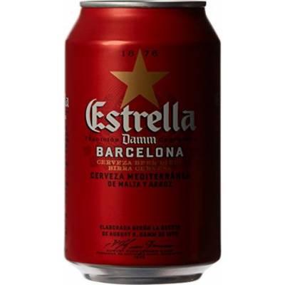 Estrella Damm Barcelona ж/б ( 0,33л )