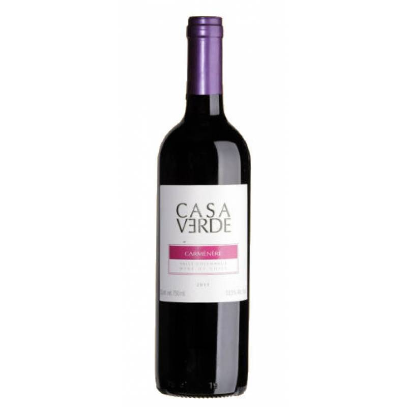 Casa Verde Carmenere ( CV Карменер ) 0,75л  Bodegas y Vinedos de Aguirre (Бодегас и Виньедос Де Агирре) - АРХИВ!!!