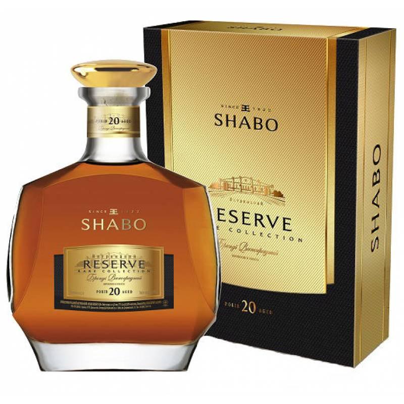 SHABO RESERVE 20 років ( 0,5л ) ООО ПТК Шабо