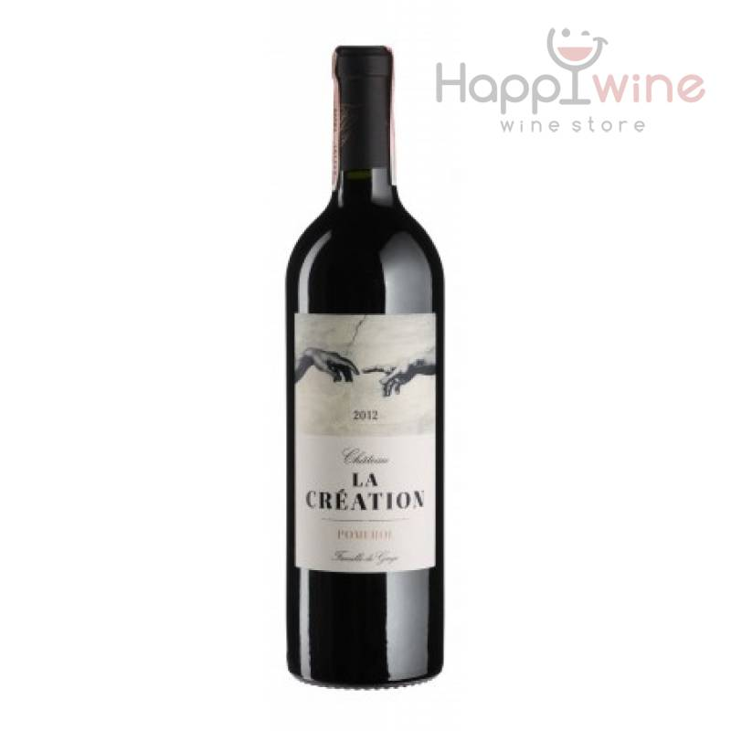 Chateau La Creation 2012 - 0,75 л Chateau La Couspaude - АРХИВ!!!