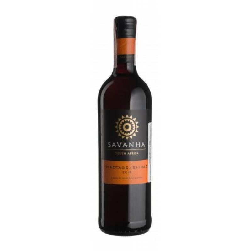 Pinotage/Shiraz Savanha - 0,75 л  Spier Wines