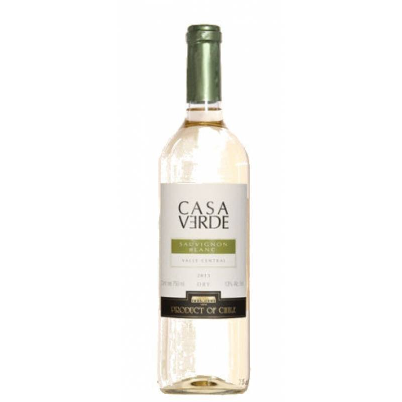 Casa Verde Sauvignon Blanc (  CV Совиньон Блан ) 0,75л  Bodegas y Vinedos de Aguirre (Бодегас и Виньедос Де Агирре) - АРХИВ!!!