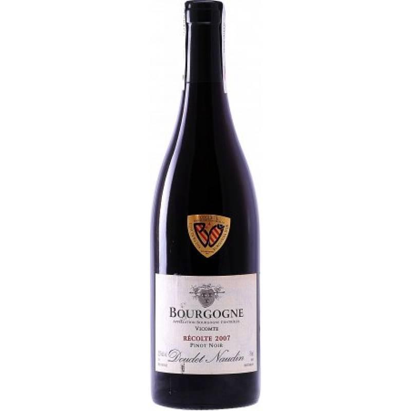 Doudet Naudin Bourgogne Pinot-Noir Vicomtee ( Doudet Naudin Бургонь Пино Нуар Викомте ) 0,75 л Doudet Naudin - АРХИВ!!!
