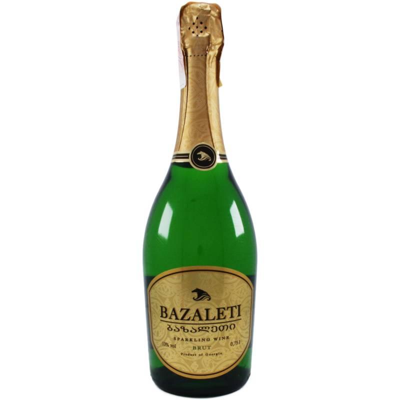 Bazaleti Brut (  Базалети брют ) 0,75л Georgia Wines & Spirits - АРХИВ!!!
