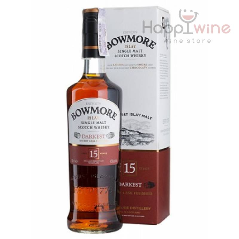 Bowmore 15 yo Darkest - 0,7 л Bowmore - АРХИВ!!!