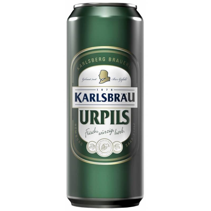 Karlsbrau urpils ( 0,5л ) Karlsberg Brauerei