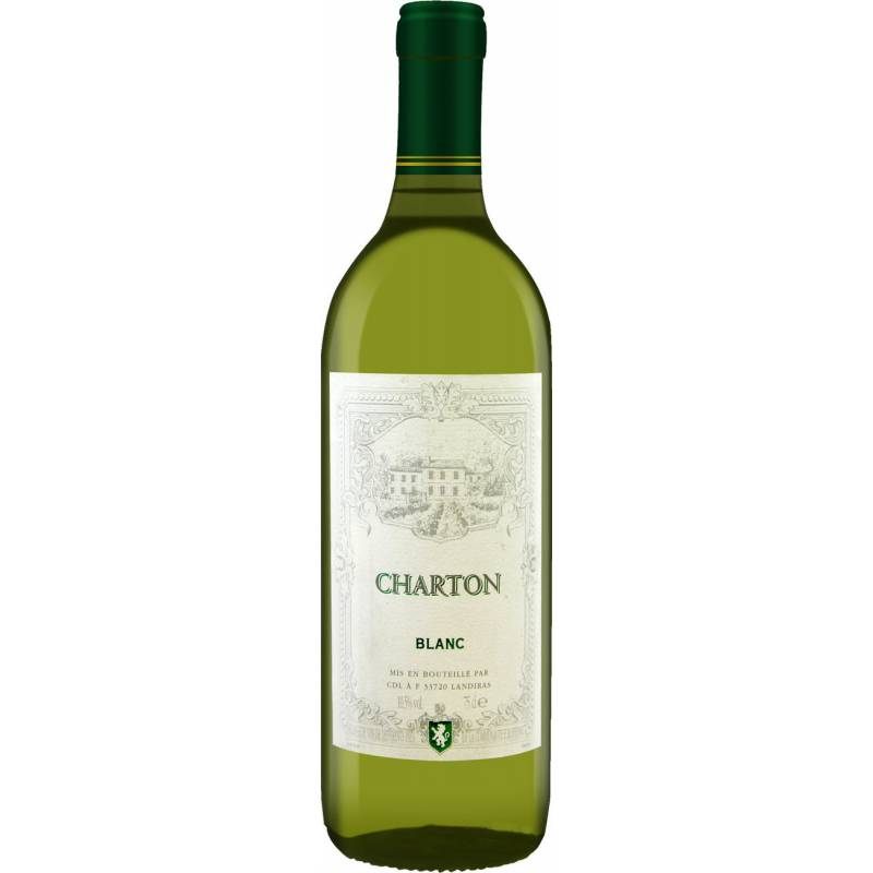 Charton BLANC  ( Ниан Шартон блан ) 0,75л  Les Grands Chais de France - АРХИВ!!!