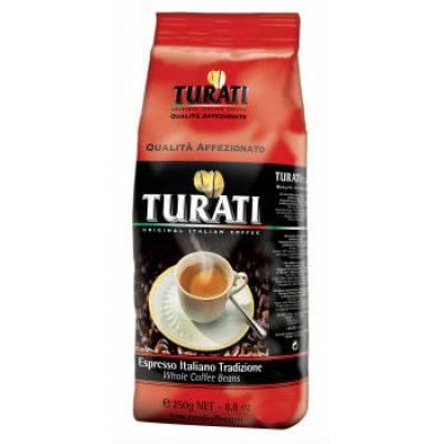 Turati Qualita  Affezionato жареное в зернах ( 250 гр)
