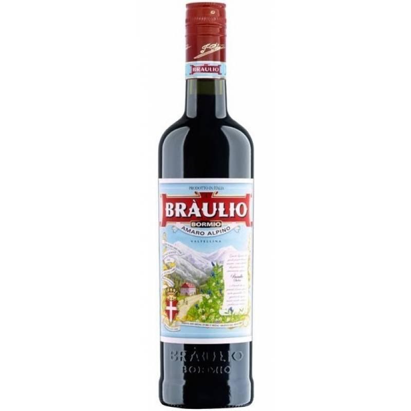 Amaro Braulio - 1 л Fratelli Averna
