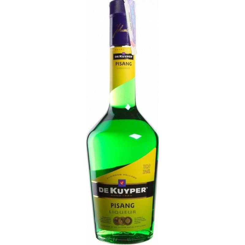 De Kuyper Pisang ( зеленый банан) ( 0,7л ) De Kuyper Royal Distillers - АРХИВ!!!