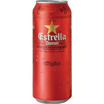 Estrella Damm ж/б 4,6% ( 0,33л )