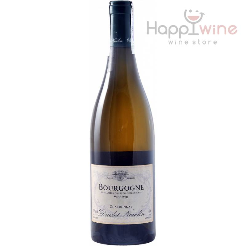 Doudet Naudin Bourgogne Vicomtee Chardonnay ( Doudet-Naudin Бургунь Викомте Шардоне ) 0,75 л Doudet Naudin - АРХИВ!!!