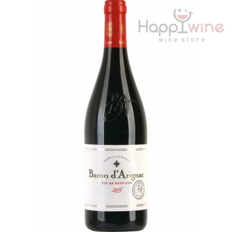 Baron d`Arignac Pays d`Oc ( 0,75л ) Les Grands Chais de France - АРХИВ!!!