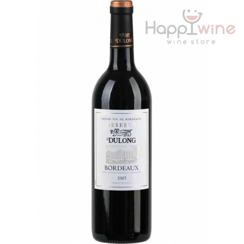 Bordeaux Reserve Dulong ( 0,75л ) - АРХИВ!!!