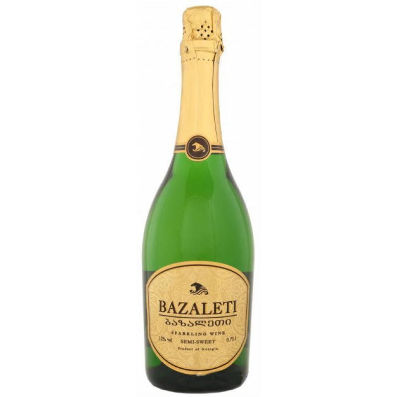 Bazaleti Semq-Sweet  Базалети бел. н/сол.  ( 0,75л ) Georgia Wines & Spirits - АРХИВ!!!