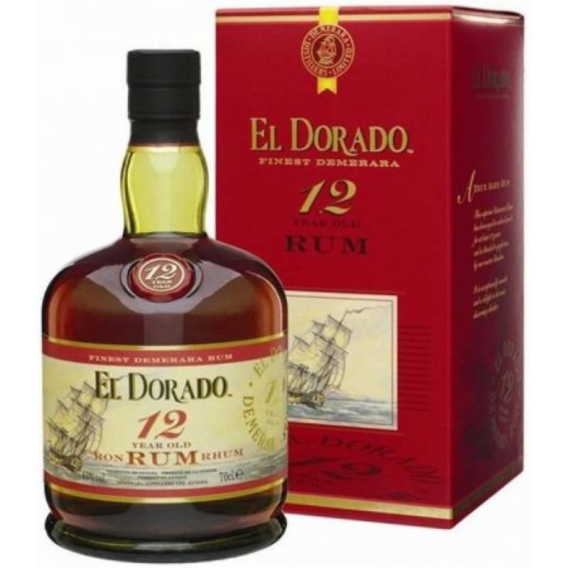 El Dorado 12 yo, gift box - 0,7 л Demerara Distillers