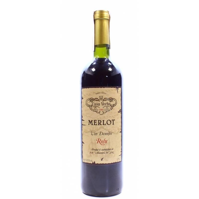 Casa Veche Мерло - 0,75 л ALIANTA-VIN - АРХИВ!!!