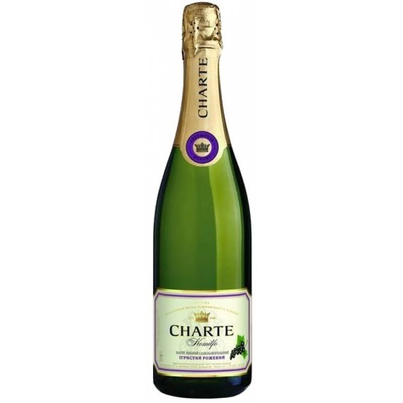 Charte Black Сurrant - 0,75 л  Artemovsk Winery - АРХИВ!!!