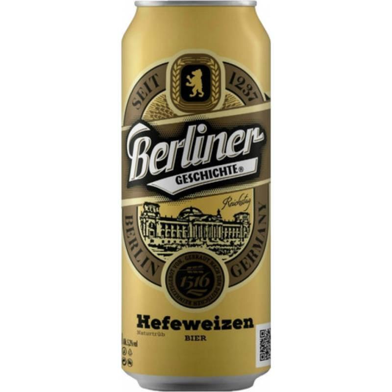 Berliner Geschichte Hefeweizen -  0,5 л ж/б Eibau