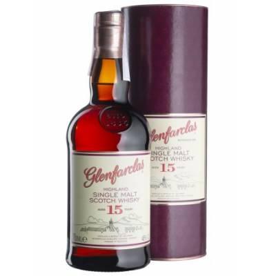 Glenfarclas 15 yo, gift box - 0,7 л