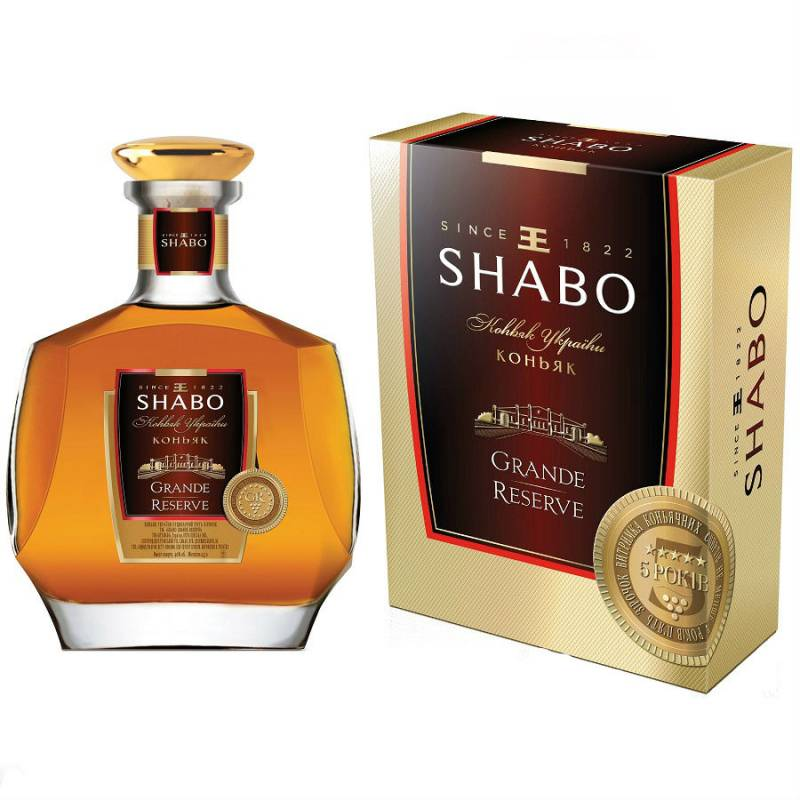 SHABO Grande Reservе 5* в упаковке - 0,5 л ООО ПТК Шабо - АРХИВ!!!