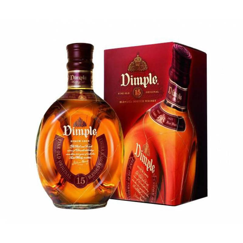 Dimple Deluxe 15 лет в коробке ( 0,7л ) John Haig & Company Ltd - АРХИВ!!!