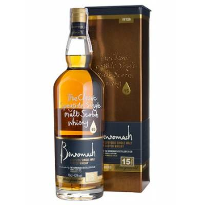 Benromach 15 yo, gift box - 0,7 л