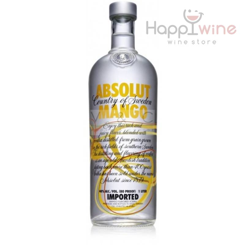 Absolut Mango - 0,7 л  The Absolut Company AB - АРХИВ!!!